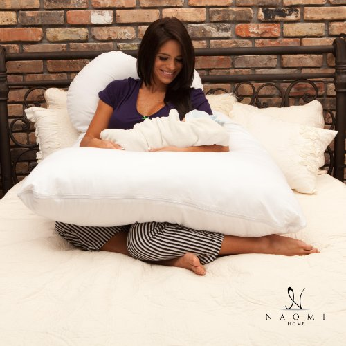 Naomi Home Cozy Body Pillow