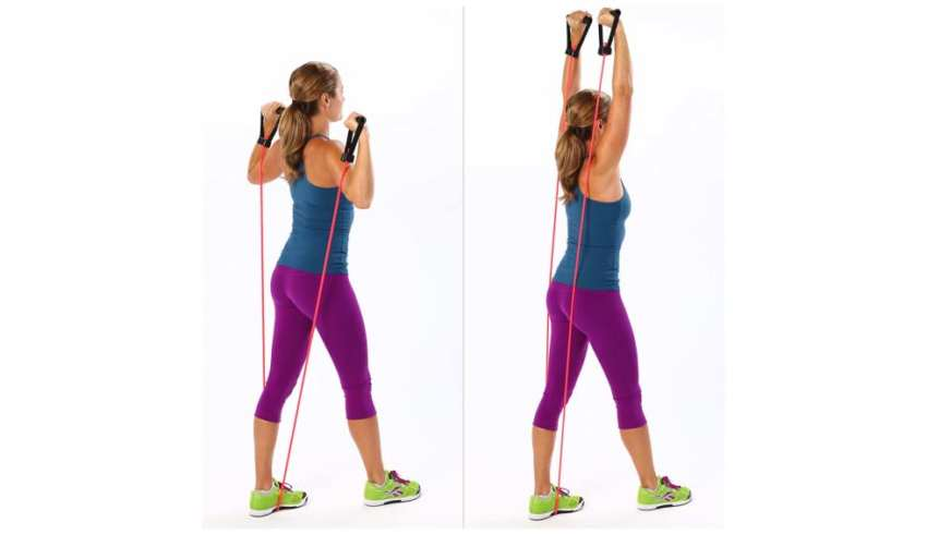 5 Exercises to Burn Fat with Resistance Bands