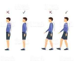 Posture mistakes